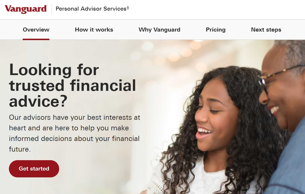 Vanguard Personal Advisor Services