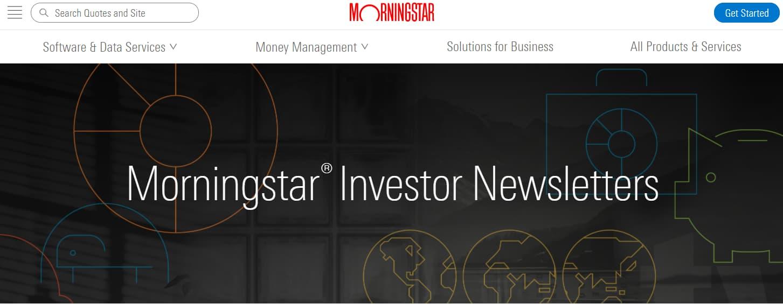 morningstar investor newsletters