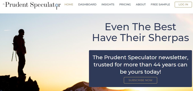 the prudent speculator