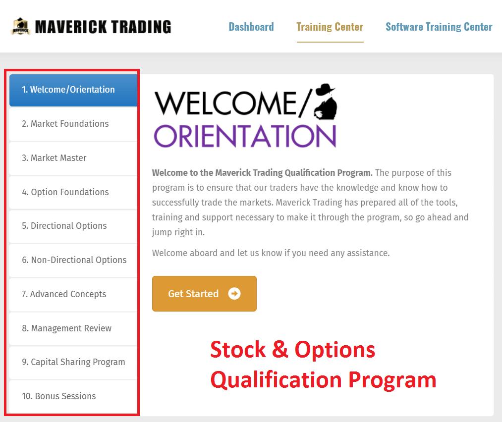 maverick trading options