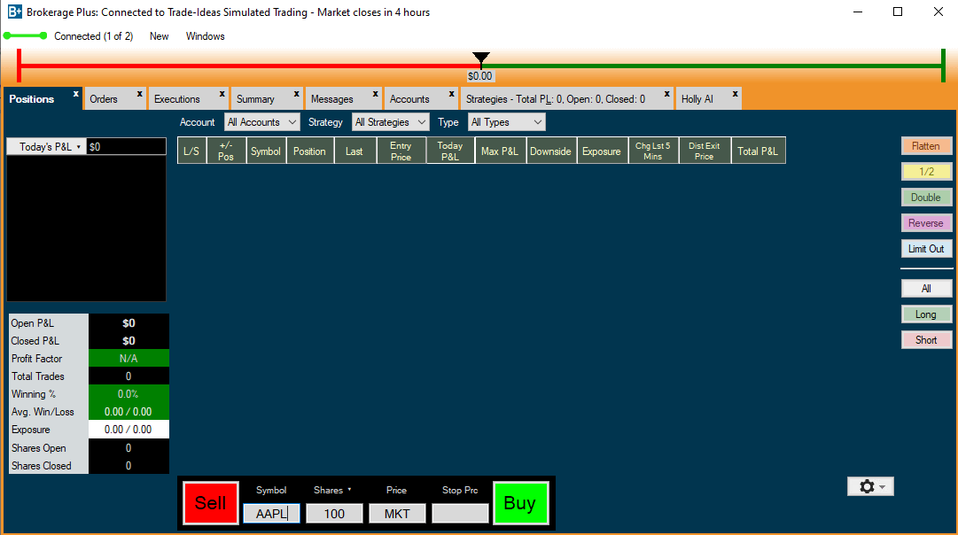 trade ideas brokerage plus